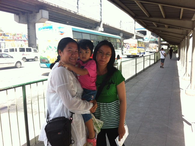 My sisters and niece