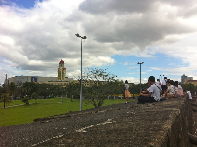 Students at Intramuros