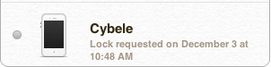 Cybele, my iPhone