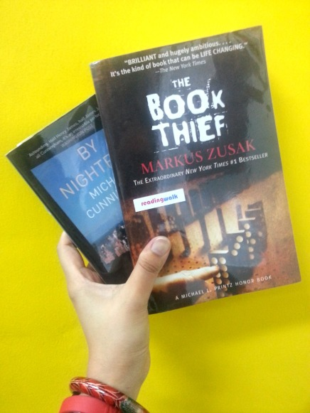 The Book Thief and By Nightfall, baru terima bukunya langsung difoto