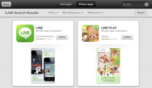 Search Line di AppStore