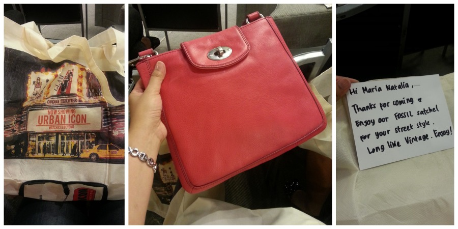 My new bag from Urban Icon Store!