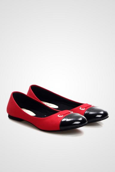 Red Naura Shoes