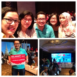 Foto dari acara launching CIMB Niaga AirAsia BIG Card