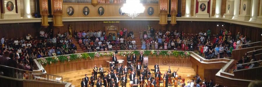 New Year Concert 2015 at Aula Simfonia Jakarta