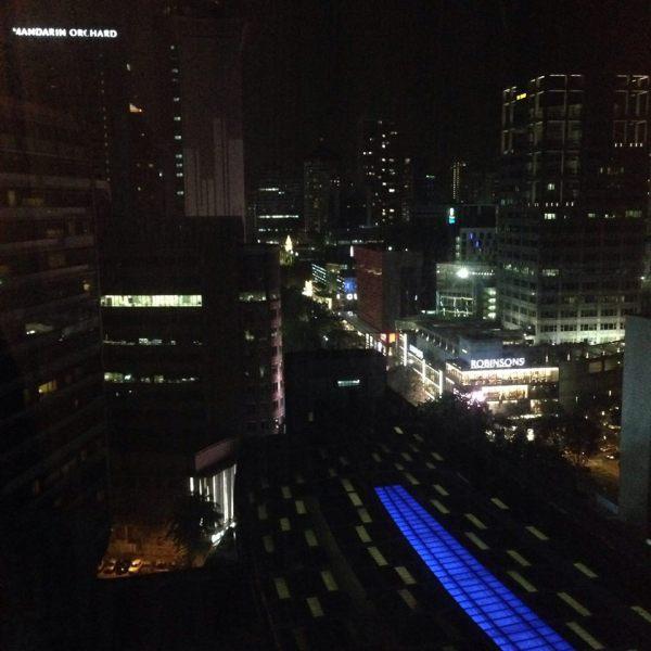 Ini pemandangan dari jendela kamarku