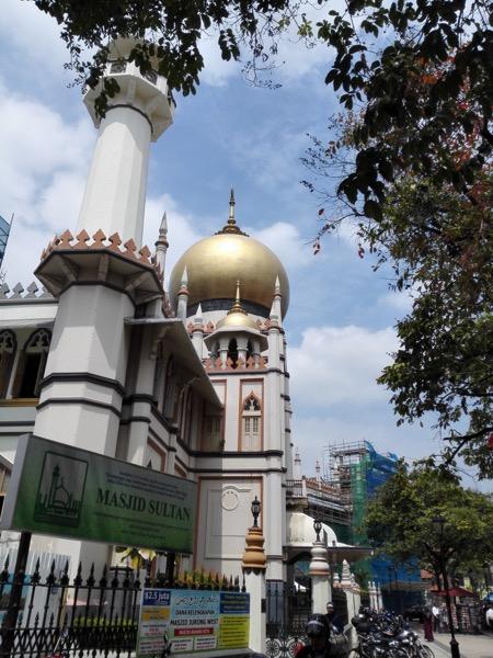 Masjid Sultan di Muscat Street