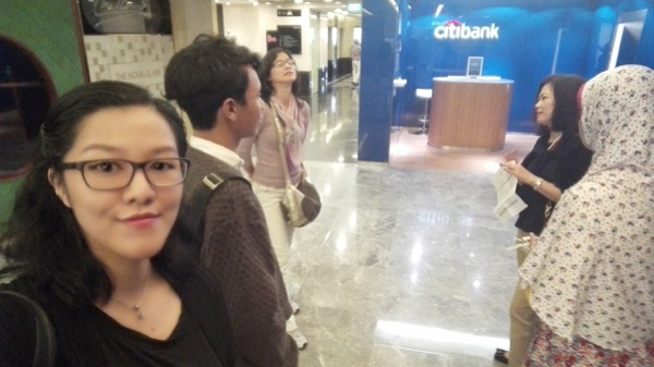 Sempat ambil selfie sebelum check up :D