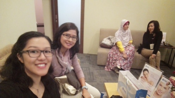Selfie (lagi) di dalam The Wellness Suite