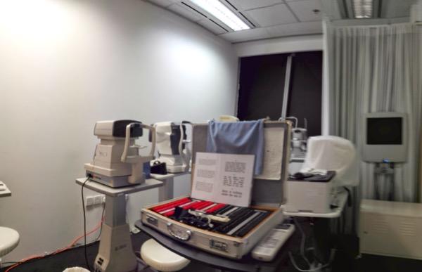 Foto interior ruang pemeriksaan - maaf ya blur nih xD