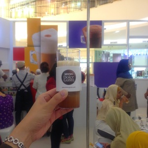 Peach Beer Wannabe, Nescafe Dolce Gusto