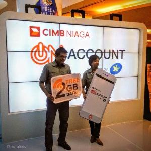 Selamat untuk launchingnya CIMB Niaga On Account XL!