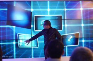 Show dari illusionist di acara launching CIMB Niaga On Account XL