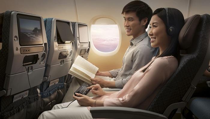 Economy Class Singapore Airlines
