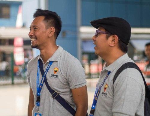 Kedua 'guide' dari Jakarta Good Guide