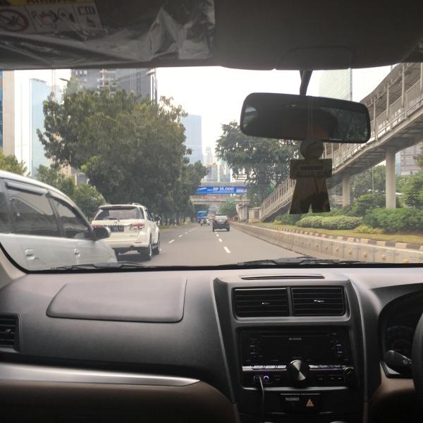 #JuliNgeblog Jakarta sepi saat orang-orang pulang kampung