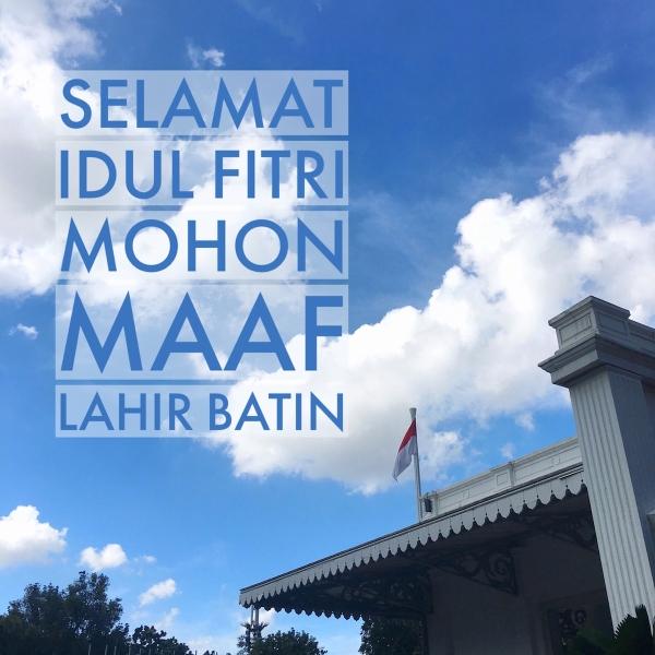 #JuliNgeblog Lebaran di Jakarta image