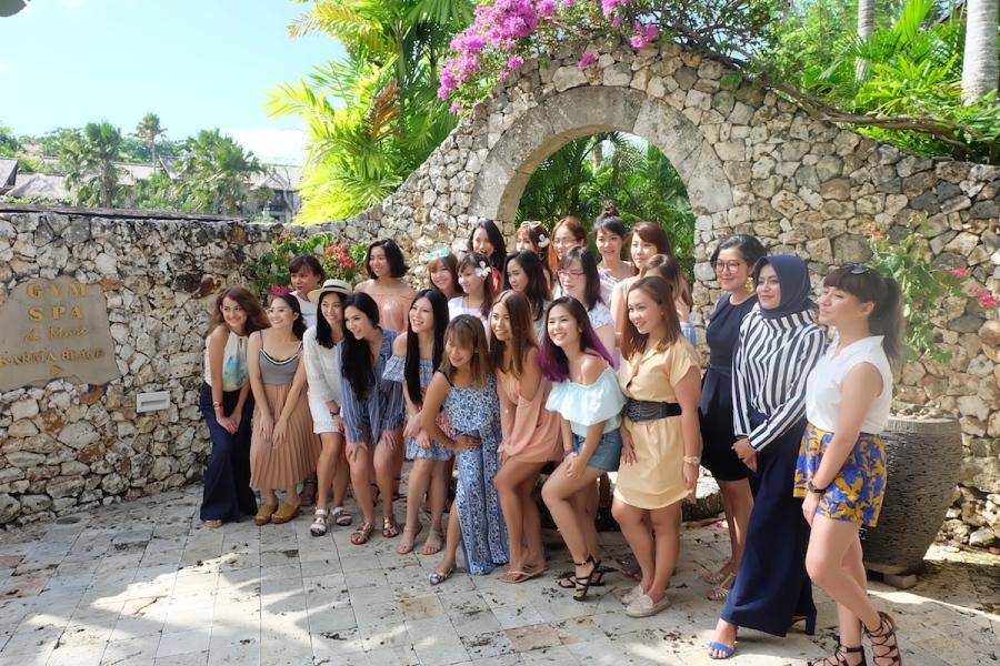 Foto bersama seluruh peserta #CetaphilExperience